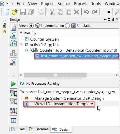 نمایش نحوهی دسترسی به فایل نمونهی Instant کردن IP