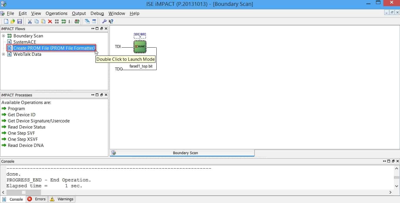 نمایش نحوهی تولید فایل MCS پروگرام کردن حافظهی فلش از روی بیت-فایل