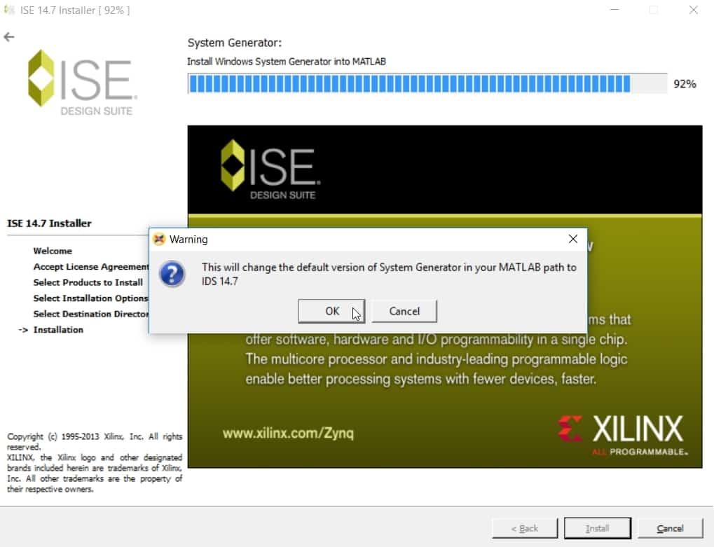 اتصال نرمافزار متلب به نرمافزار ISE