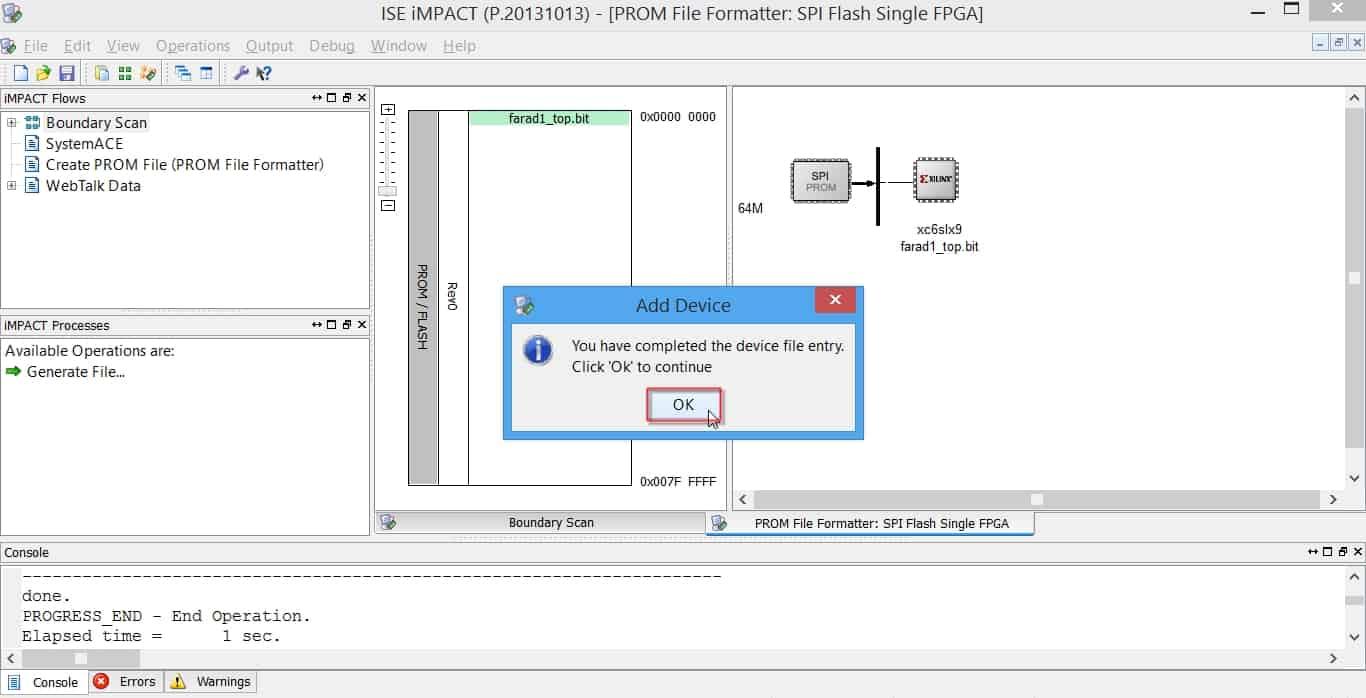 کامل شدن مرحلهی ورود بیت-فایل