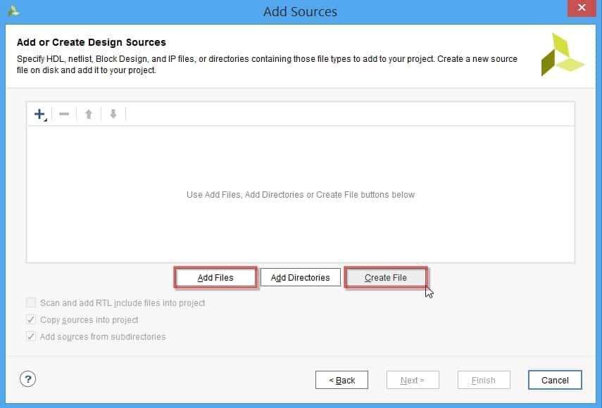 اضافه کردن source جدید به پروژه در نرمافزار ویوادو
