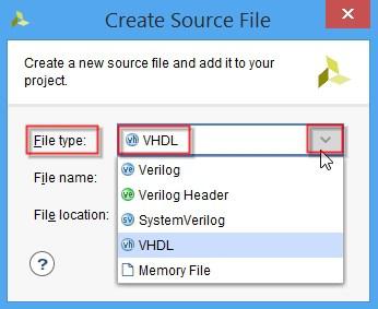 ساخت ماجول VHDL در نرمافزار ویوادو